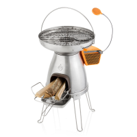 BioLite BaseCamp | Wood Burning Stove and Grill