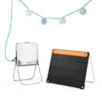 BioLite BLXL Solar Kit | Packable Light And Solar