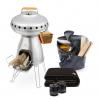 BioLite BaseCamp Holiday Kit | Pizza Stove, Mugs & Blanket Gift Pack