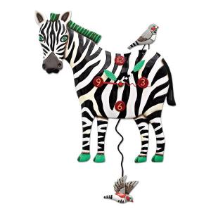 Allen Designs - Zeb the Zebra Clock