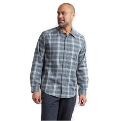ExOfficio Okanagan Macro Check Long Sleeve Shirt Men