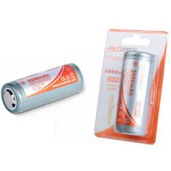 OrcaTorch 26650 Rechargeable Battery - 5000mAh