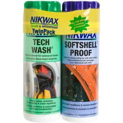 Nikwax Softshell Wash and Waterproofing DuoPack