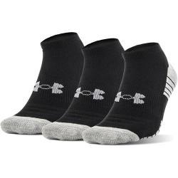 Under Armour Heatgear Tech No Show Socks, 3 Pack