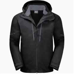 Jack Wolfskin Sierra Trail 3-in-1 Hardshell Jacket for Men