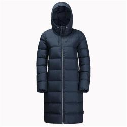Jack Wolfskin Crystal Palace Windproof Down Coat for Women