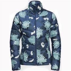 Jack Wolfskin Helium High Print Windproof Down Jacket for Women