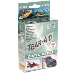 Tear-Aid Type B Vinyl Repair, See-Thru Patch