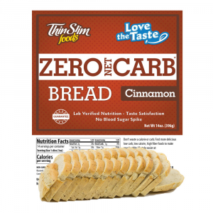 Love-The-Taste Low Carb Bread Cinnamon | ThinSlim Foods
