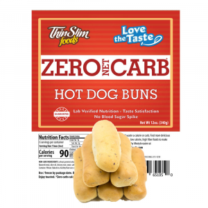 Love-The-Taste Low Carb Hot Dog Buns | ThinSlim Foods