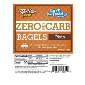 Love-The-Taste Low Carb Bagels Plain | ThinSlim Foods