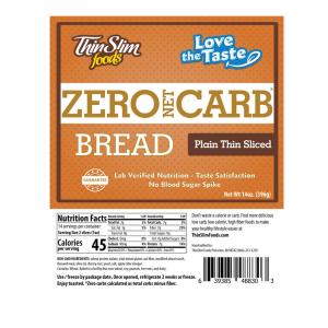 ThinSlim Foods Love-the-Taste Bread Thin Sliced Plain