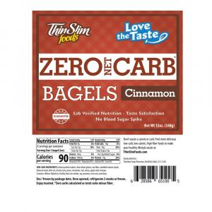 Love-The-Taste Low Carb Bagels Cinnamon | ThinSlim Foods