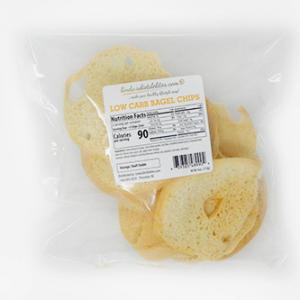 Lindas Diet Delites Low Carb Bagel Chips Plain