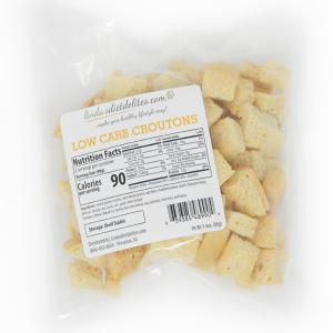 Lindas Diet Delites Low Carb Croutons