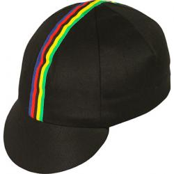 Pace Traditional Cycling Cap Black/World - XL