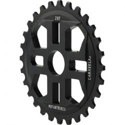 Mutant Bikes Caravela Sprocket V2 28T Anodized Black
