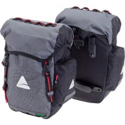 Axiom Seymour Oceanweave 22+ Panniers: Gray/Black