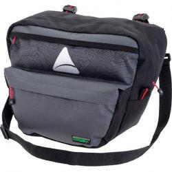 Axiom Seymour Oceanweave P7 Handlebar Bag: Black/Gray