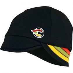 Pace Reversible Merino Wool Cap -Black/Cinelli