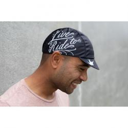 Pace Hex-Tek Cycling Cap - UPF 50 Plus, Live to Ride IV