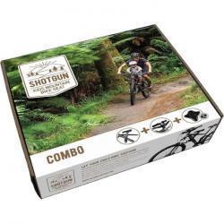 Shotgun Kid's Mountain Bike Seat Combo Box