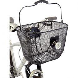 Axiom Fresh Mesh DLX Front Basket - Black Mesh