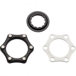 Problem Solvers Centerlock Adaptor for 6-bolt Rotors with Lockring