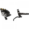 Shimano Saint BL-M820-B/BR-M820 Disc Brake and Lever - Rear, Post Mount,