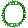 Absolute Black Oval 104 BCD Chainring - 4-Bolt, Narrow-Wide