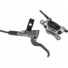 Shimano XTR BL-M9120/BR-M9120 Disc Brake and Lever - Post Mount, Finned Metal Pads, Gray