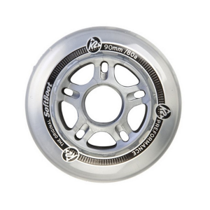 K2 90mm Wheels 8-pack with ILQ Aluminum Spacers
