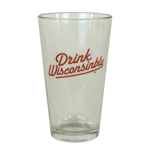 Afternoon Tee Drink Wisconsinbly Pint Glass