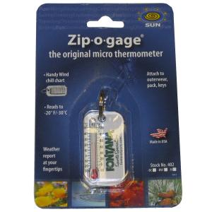 Sun Company Fontana Sports Zip-O-Gage Thermometer