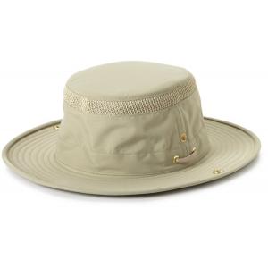 Tilley LTM3 AIRFLO Nylamtium Hat - Khaki with Olive Underbrim