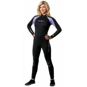 Neosport Women's 7/5mm Neoprene Jumpsuit