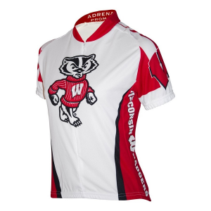Adrenaline Promotion Women's Wisconsin Badgers Cycling Jersey