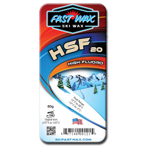 Fast Wax Highly Fluorinated Racing Wax - HSF 20