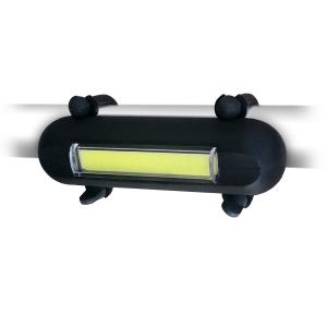 Skye Atomic Hotdog USB Rechargeable LED Bicycle Light (White)