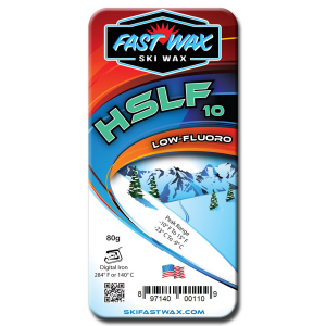 Fast Wax Low Fluorinated Racing Wax - HSLF 10