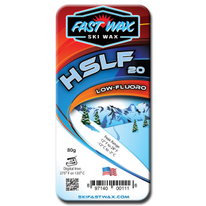 Fast Wax Low Fluorinated Racing Wax - HSLF 20