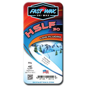 Fast Wax Low Fluorinated Racing Wax - HSLF 30