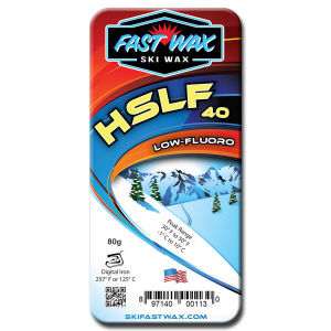 Fast Wax Low Fluorinated Racing Wax - HSLF 40