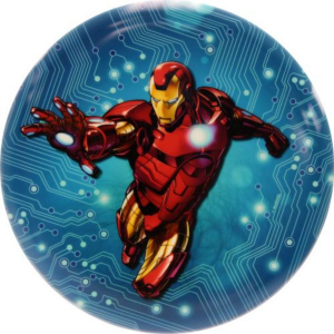 Dynamic Discs Marvel Blue Circuit Iron Man Felan Dyem