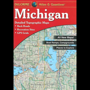 Delorme Maps Michigan Gazetteer