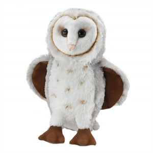 Wildlife Artists Plush Barn Owl Conservation Critter