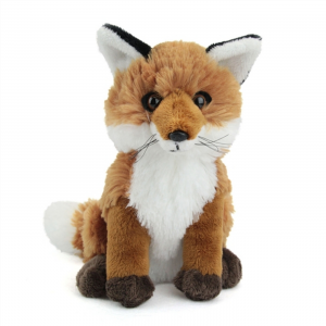 Wildlife Artists Stuffed Red Fox Conservation Critter