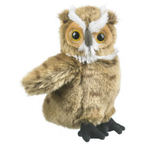 Wildlife Artists Stuffed Great Horned Owl Conservation Critter