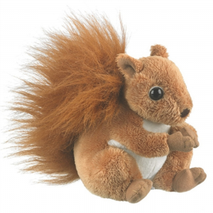 Wildlife Artists Stuffed Red Squirrel Conservation Critter