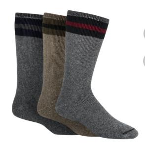 Wigwam Mills American Wool Boot 3 Pack Socks